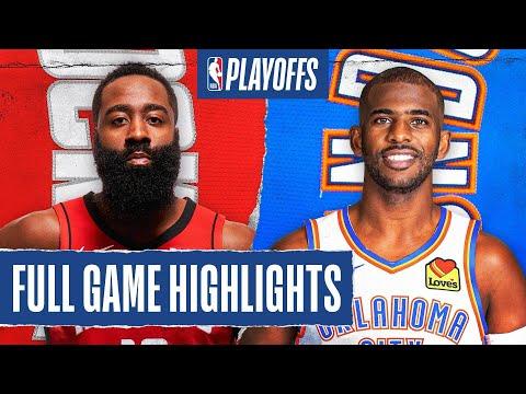 Oklahoma City Thunder vs Houston Rockets | August 31, 2020