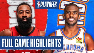 Oklahoma City Thunder vs Houston Rockets | August 31, 2020