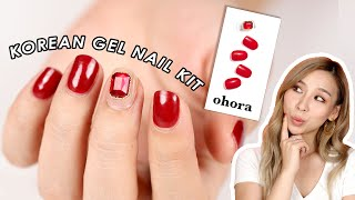 Trying New Korean Gel Nail Kit from Ohora