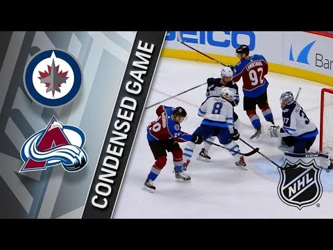 Winnipeg Jets vs Colorado Avalanche – Jan. 02, 2018 | Game Highlights | NHL 2017/18. Обзор матча