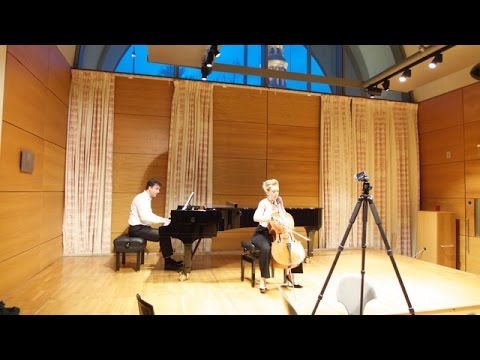 Chanson Triste by P.I. Tchaikovsky: Susanne Beer and Gareth Hancock