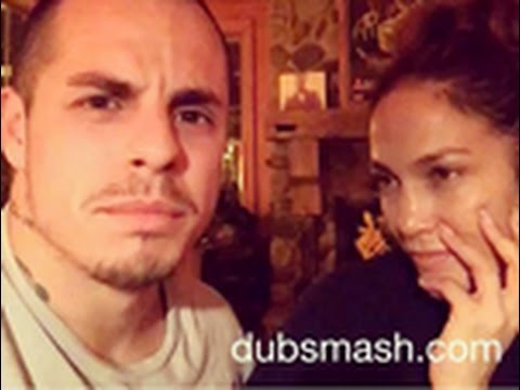 Jennifer Lopez and Casper Smart Act Out a Scene from Wedding Crashers: 'Call Me Kitty Kat' Video
