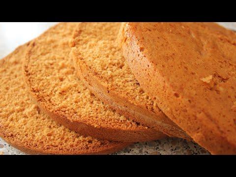 Мягкий и воздушный медовый бисквит/Judayam mayin asalli biskvit /