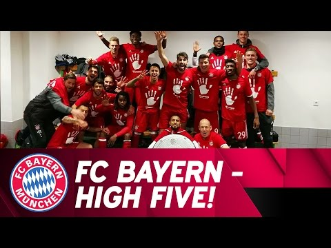 Best of FC Bayern 2016/17 Bundesliga Title Celebrations!