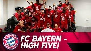 Best of FC Bayern 2016/17 Bundesliga Title Celebrations!