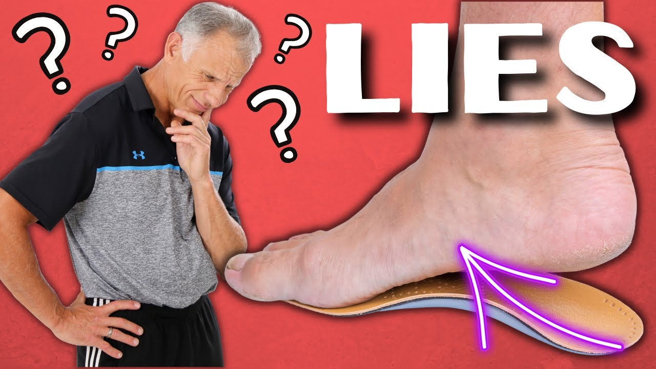 737305587f The Big Lie About Flat Feet & Custom Arch Supports. - YouTube