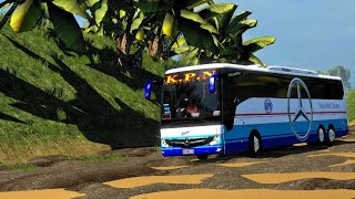 Download Video KPN Bus Stuck on off-Road/Mercedes Benz Tourismo | indian driver gameplay v1.31.... MP3 3GP MP4