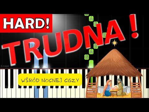 🎹 Wśród nocnej ciszy - Piano Tutorial (TRUDNA! wersja) 🎹