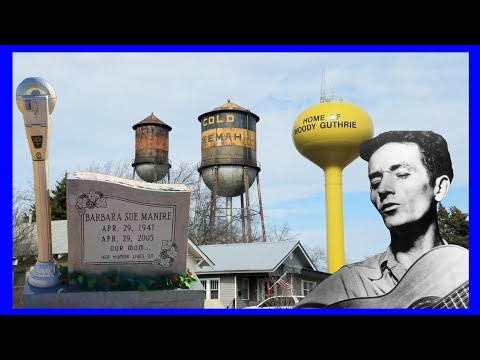 Woody Guthrie's Home Town of Okemah, Oklahoma