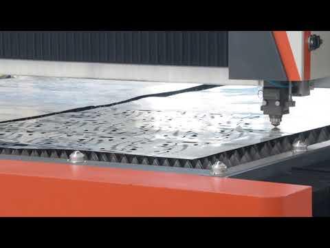 1200w 2040 Fiber Laser Metal Sheet Cutting Machine For 0.5mm Galvanized Steel