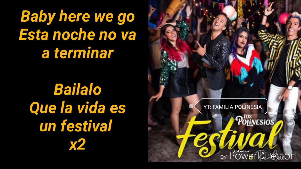Los Polinesios & RedOne - Festival (LETRA)
