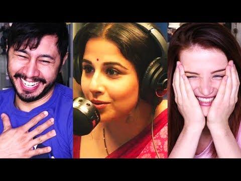 TUMHARI SULU | Vidya Balan | Trailer Reaction w/ Olena!