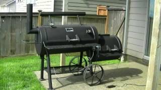 SmokingPit.com - The Yoder Wichita Wood Smoker Review 1st Glance - Video 1 of