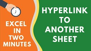 Quickly Hyperlink to Another Sheet in Excel (or a Defined Named Range)