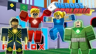 HEROES OF ROBLOXIA IN ROBLOX (Partie 1)