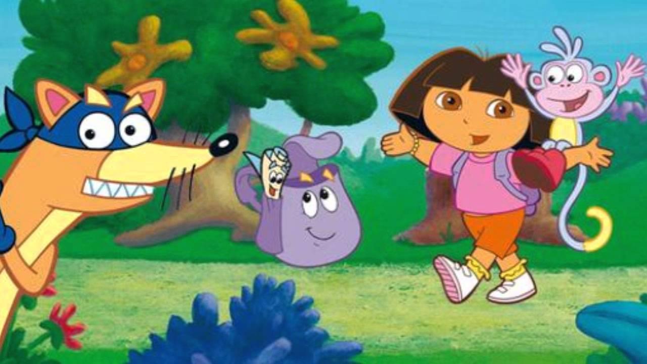Dora L Exploratrice Je Suis La Carte Sac A Dos C Est Gagne
