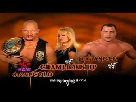 Kurt Angle vs Steve Austin Promo Unforgiven 2001