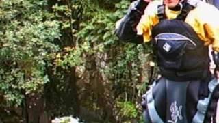 Kayaking Low force river tees (helmet camera)