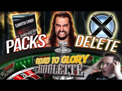 DELETE A TITAN PRO OR OPEN PACKS? RUSEV ROULETTE | WWE SuperCard S4