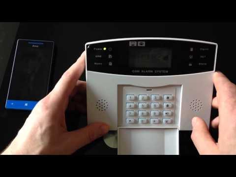 WWW.VIPBID.CO.UK GSM wireless alarm system, sim card signal ORANGE, LEBARA, DELIGHT