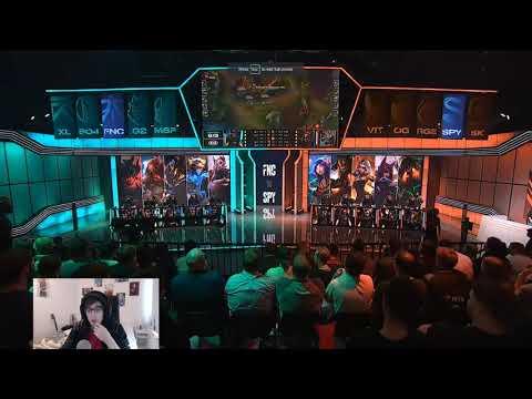Vedius VOD Review - LEC Week 4 Fnatic vs Splyce