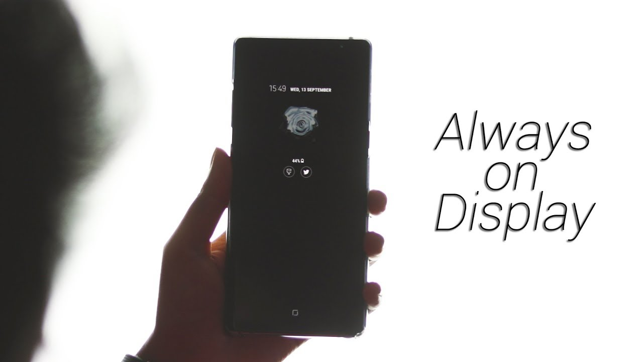 Samsung Galaxy Note 8: How to Customize Always On Display