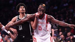 Better Young Big Man? Clint Capela vs. Jarrett Allen   NBA Highlights
