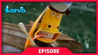 LARVA - SEA BATTLE | Cartoon Movie | Cartoons For Children | Larva Cartoon | LARVA Official