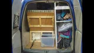 Vw Caddy Van Camper Conversion.