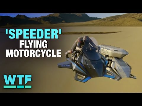 You can buy this 'Speeder' flying motorcycle now | What the Future