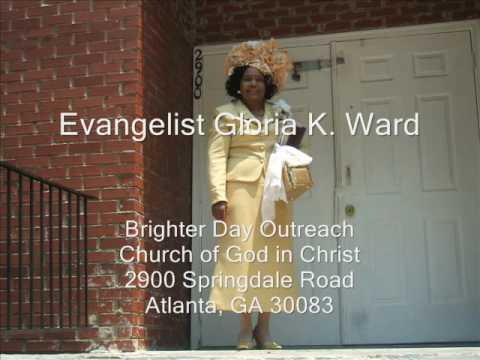Evangelist Gloria Ward - Preach: The Secret Place Atlanta GA