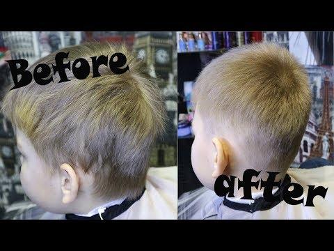 Как подстричь мальчика в домашних условиях машинкой