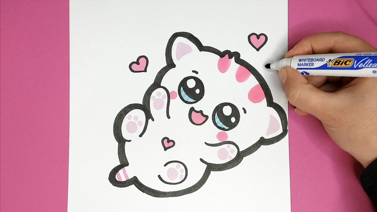 Kawaii Baby Katze Selber Malen Kawaii Bilder