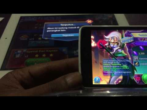 Lord Mobile Tutor Login Id Gamecenter(IOS) To Android By Facebook Id Part3