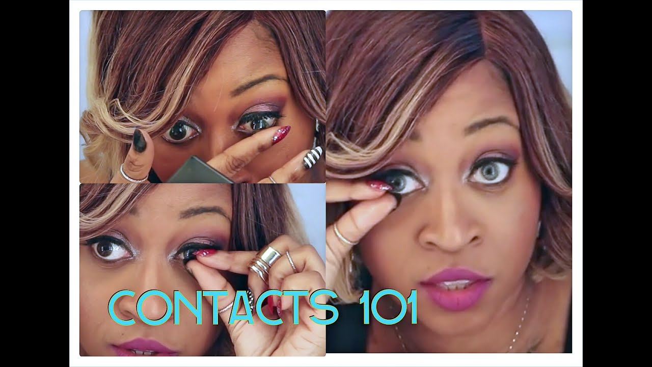 6c1ad69e5956 HOW TO PUT ON AND TAKE OFF CONTACT LENSES FOR BEGINNERS (STEP BY STEP HD)