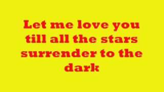 Let me love you (lyrics) Jed Madela