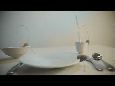 Tilt tableware