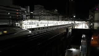 新幹線動画撮り(夜間)