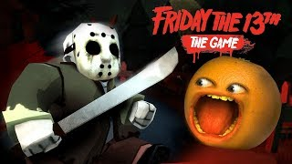 FRIDAY THE 13TH: THE GAME!!! (Annoying Orange) #ShocktoberGames