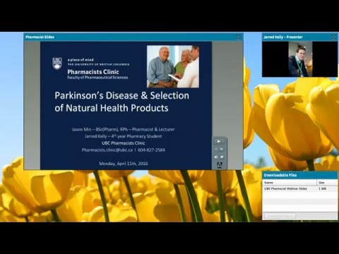UBC Pharmacists Clinic Webinar