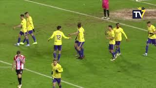 Resumen UD Logroñés-Cádiz de Copa del Rey (11-01-20)