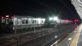 東北本線 白河駅 ダイヤ改正直前 白河行最終列車 4155M留置 2019.03.15