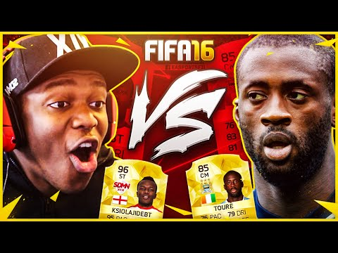 FIFA 16 | YAYA TOURE VS KSI