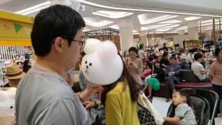 꽃피는 솜사탕 하남스타필드 영업현장 출동~!