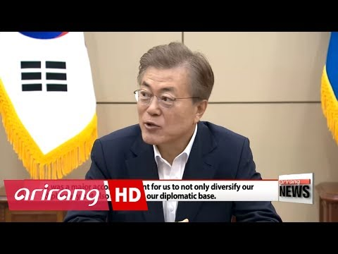 President Moon Jae-in highlights importance of Russia, ASEAN, EU