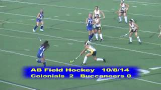Acton Boxborough Varsity Field Hockey vs Bedford 10/8/14