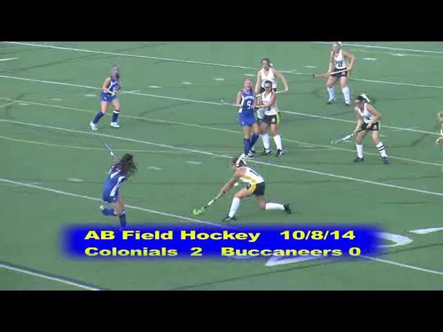Acton Boxborough Varsity Field Hockey vs Bedford 10/8/14