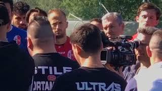 20_04_2018 Discorso alla squadra prima del derby Foggia Bari
