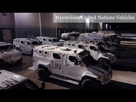United Nations Military Vehicles Hiding In Maryland; Stored or Ready For Action?