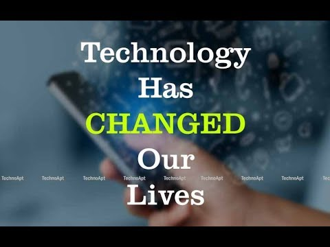 Role of | Technology | in our life [Urdu/Hindi] 2018